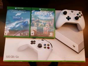 Xbox one s 500g avec Farcry 5 et Forza 6