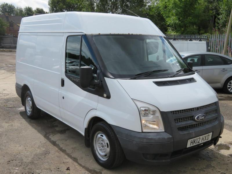 16de2e7d8416aa L  K Ford Transit SWB High Roof CHEAP 2012 Clean Van New Brake Discs and  Tyres