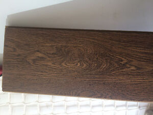Commercial grade wood looking laminate and underlay