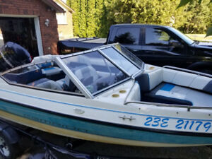 1995 Champion Boat and Trailer