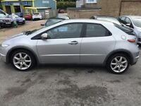 honda civic 2009 cdti sport 5 door . 12 months mot & fully serviced . reduced price for quick sale