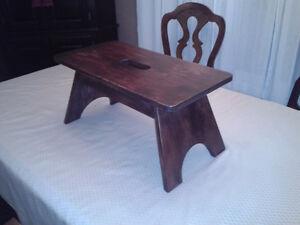 Pine stool Belleville Belleville Area image 2