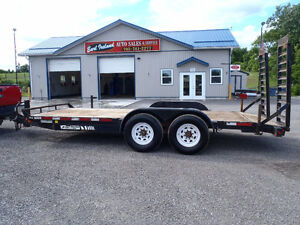 2011 Jensen Trailer 18' Float with ramps