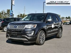 2017 Ford Explorer Platinum  - Leather Seats -  Cooled Seats - $