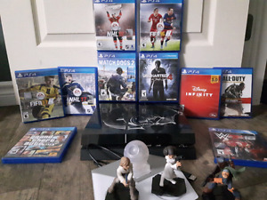 PS4 With 11 games