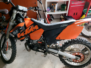 250 KTM 250sx for sale or trade