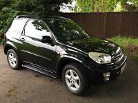 TOYOTA RAV4 2.0VVTI BLACK SWB 2003 53 REG £1995 ONO