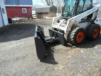 Bob cat /skid steer snow blade