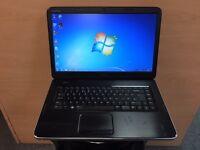 Dell Fast HD Laptop (Kodi) 250GB, 3GB Ram, HDMI, Windows 7, Microsoft office, Good Condition