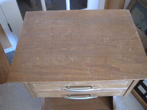 Bedside Table With Dovetail Drawer Kitchener / Waterloo Kitchener Area image 2