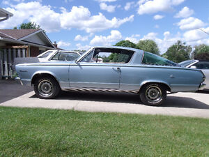 66 Barracuda Reduced 23900 1 WEEK ONLY THEN WILL GO US SIDE