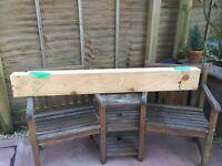 Timber lintel, composite beam.