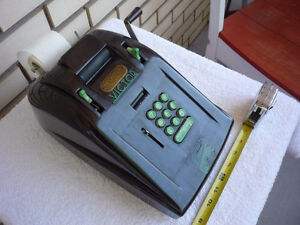 Art deco bakelite McCaskey Victor Cash Register adding machine