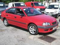 1999 TOYOTA AVENSIS 1.8 SE Liftback