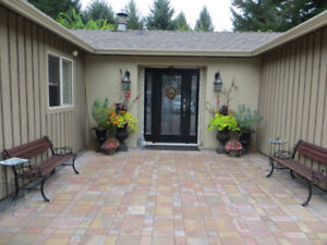 Attention Snowbirds!  Furnished 1 Level Home on 1.3 Acres