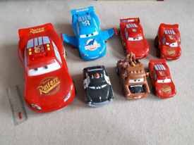 Lightning mcqueen large and friends. Lights and sounds on some