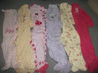 Girls 24 mth sleepers- Lot of 6