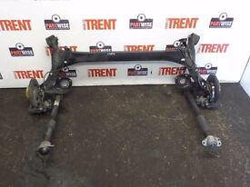 Audi a1 REAR AXLE ASSEMBLY WITH ABS complete