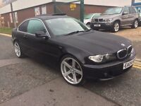 "BMW 320 CI COUPE """"04 PLATE """" 19 INCH BMW ALLOYS!!!F/S/H!!!"