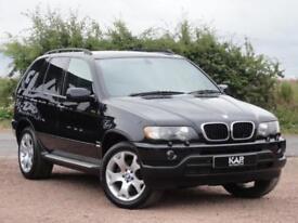 BMW X5 E53 3.0d Sport, 2002, Auto, Black, 125k Miles, 1 Year MOT
