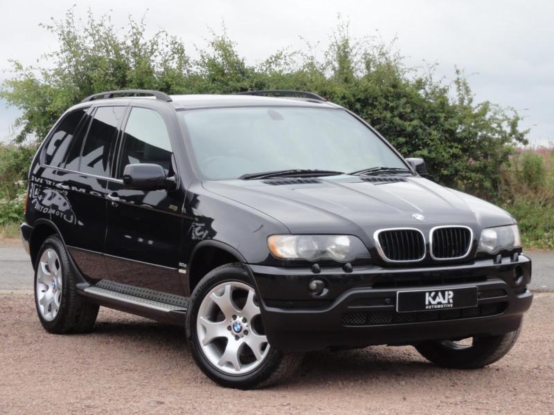 Bmw X5 E53 3 0d Sport  2002  Auto  Black  125k Miles  1