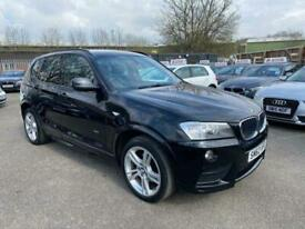 image for 2012 BMW X3 2.0 20d M Sport Auto xDrive 5dr SUV Diesel Automatic