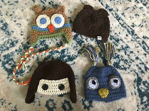 6 -12 mos crocheted hat lots