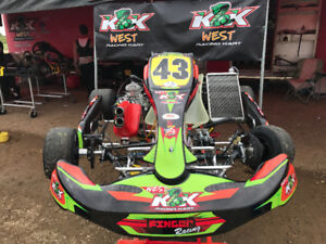 New and used race karts