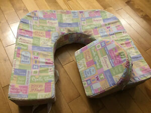 Twin (double) nursing pillow