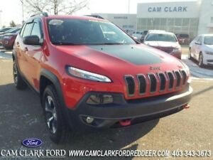 2017 Jeep Cherokee Trailhawk  Heated Steering Wheel-Heated Front