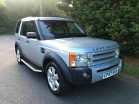 2008 LAND ROVER DISCOVERY 3 2.7 TDV6 HSE AUTOMATIC 4X4 7 SEATER TURBO DIESEL