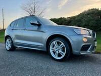 2013 BMW X3 xDrive20d M Sport *185BHP *LOW MILEAGE *AUTOMATIC*