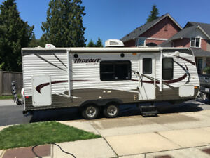 2014 Keystone Hideout 24BHWE travel trailer, bunkhouse