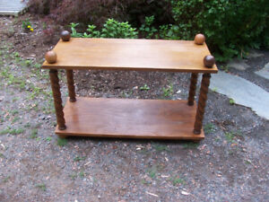 Small Coffee table 32 by 14 and 19 Tall For sale