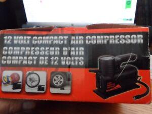 brand new 12V/150PSI Max compact air compressor