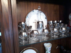 """Assorted """"Platinum"""" and Crystal Glassware (Mississauga pick up)"""