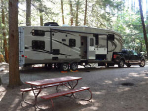 Roulotte à sellette (Fifthwheel) 2012 Cougar High Country 296 BH