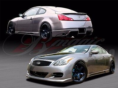 FITS 2008-2012 INFINITI G37 2DR COUPE S-TECH STYLE FULL BODY KIT BY AIT RACING