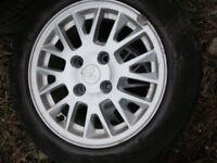 Mitsubusi Alloy Wheels & tyres