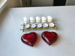 CANDLE DISPLAY SET
