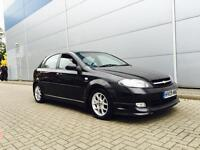 2009 09 Reg Chevrolet Lacetti 1.8 Sport Black + 5door + BODY STYLING KIT