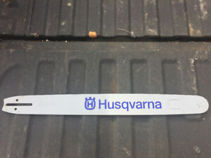 "Husqvarna 24"" chainsaw bar"