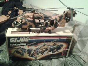 1986 GIJoe Tomahawk Helicopter with Original Box