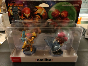 Fox, Shulk, Meta Knight, Mega Man, Zero Suit Samus, Rob amiibo