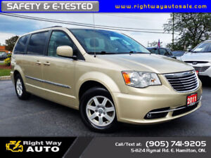 2011 Chrysler Town & Country | PWR DRS | SAFETY & E-TESTED