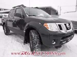 2013 NISSAN FRONTIER PRO-4X CREW CAB 4X4 AT PRO-4X