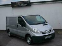 NISSAN PRIMASTER SE 2.0 6 SPEED 115 BHP TURBO DIESEL SWB LOW TOP SILVER VAN