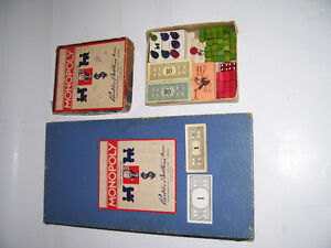 MONOPOLY GAME [1940's]