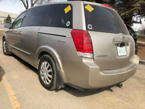 NISSAN QUEST V6 S