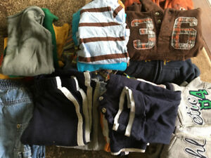 Large 12 & 12-18 month boys clothing lot